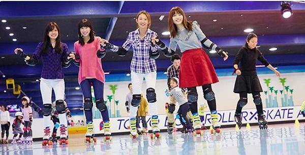 東京 室内アクティビティ おすすめ 東京ドームシティ・ローラースケートアリーナ